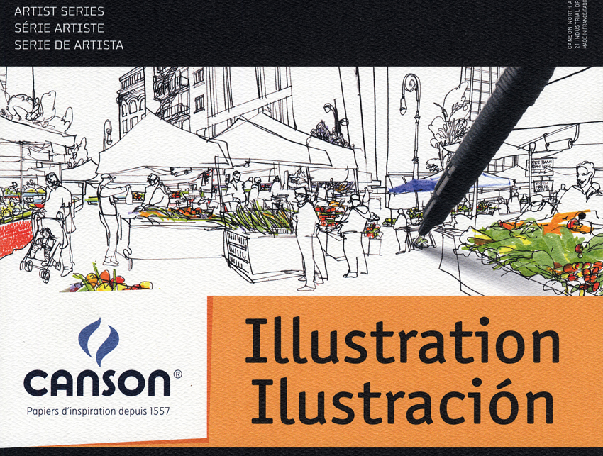 Canson Illustration Cover Illustration | Veronical Lawlor