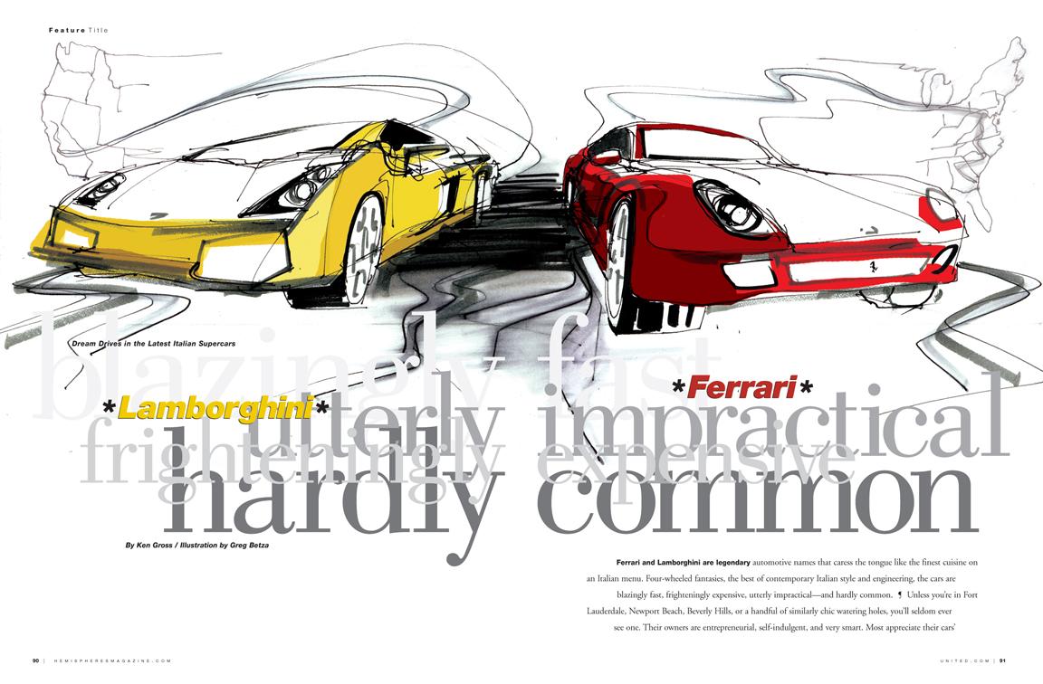 Hemispheres Magazine May 2007 | Greg Betza
