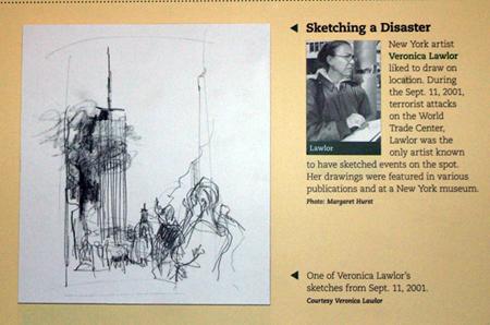 Newseum Drawing | Veronica Lawlor