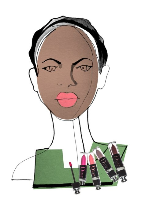 SPRING MAKEUP FOR THE NY TIMES by Greg Betza