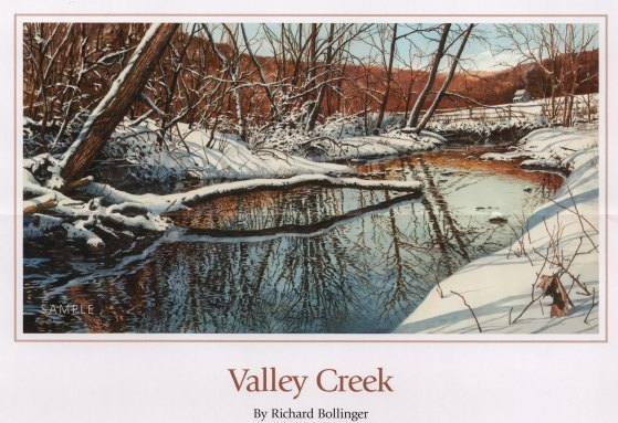 "Valley Creek 17""x32"""