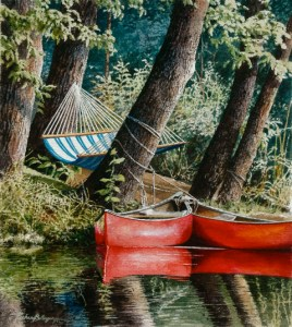 red canoes richard bollinger