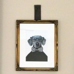 Custom Framing // Downingtown PA // Studio 3 // Dog