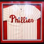 Custom Framing // Phillies Sports Jersey // Studio 3