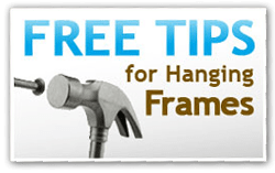 Picture Frame Hanging Tips