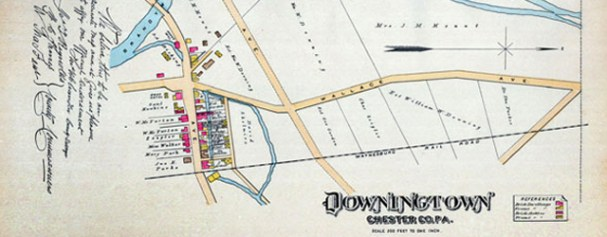 Historic Maps available at Studio 3 // Downingtown PA