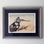 Custom Framing // Downingtown PA // Studio 3 // Horse