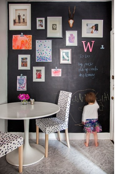 chalkboard custom framing // Studio 3 custom frames