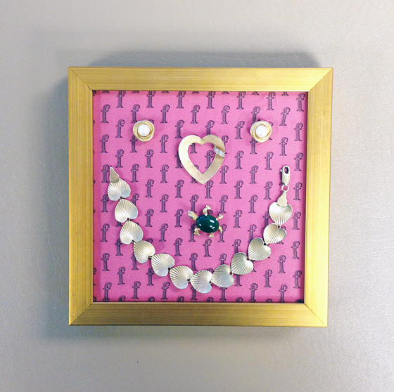 Remembrance Jewelry Shadowboxes // Studio 3 Framing