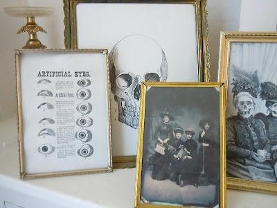vintage halloween frames // studio 3