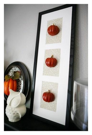 custom framed pumpkins // studio 3