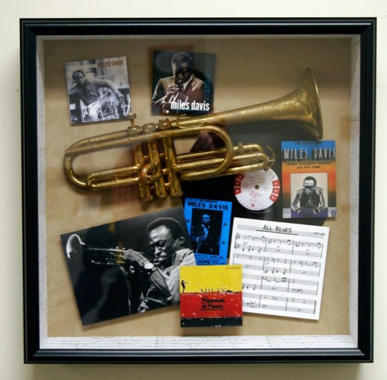 Custom Framed Music Shadowbox