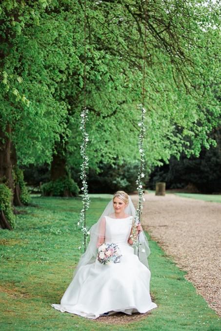 Rise Hall Wedding Swing