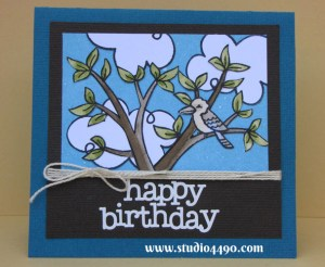Happy Birthday Materials used: Stamps - Bon Voyage, Critters Down Under (Lawn Fawn); Distress Inks, Distress Markers; Stickers - Happy Birthday (doodlebug design); Embroidery Floss (DMC); Cardstock - American Crafts, Knight.