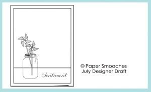 Paper Smooches Designer Drafts Challenge