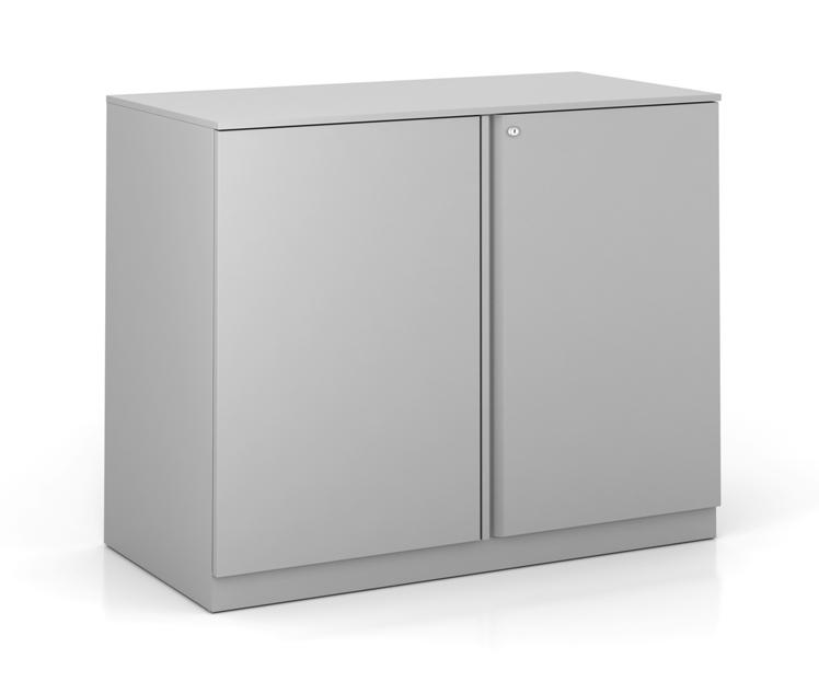 PACK Metal Double Door Storage Cabinet 2High 36W