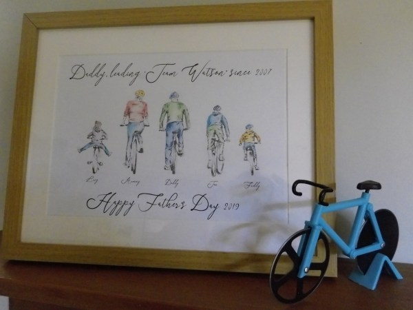 Personalised Bike Family Portraits