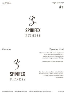 SPINIFEX FITNESS logo concept 1
