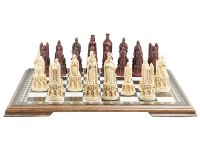 Medieval Cathedral Chess Set