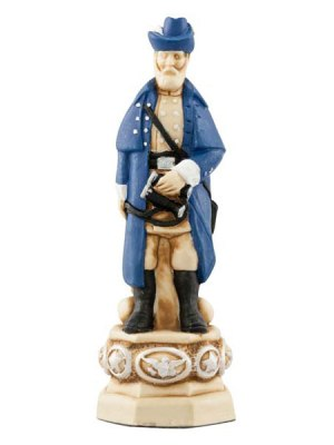 American Civil War Chess Pieces