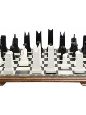 Art Deco Chess Pieces