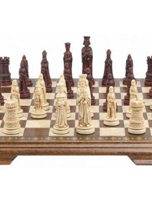 Mini Medieval Chess Set