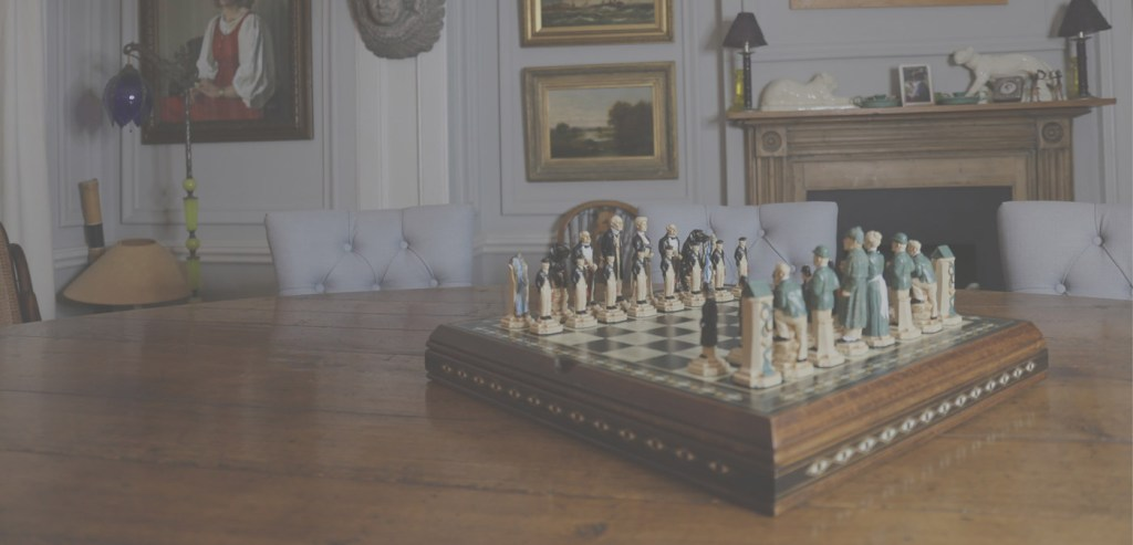 Chess Board Chess Pieces