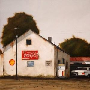 Pniel Garage (521) by Donna McKellar