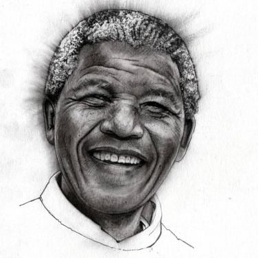 Nelson Mandela by Adrian Owen