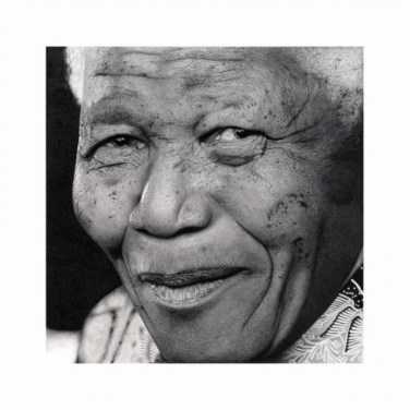Portrait of Nelson Mandela by Craig Ivor