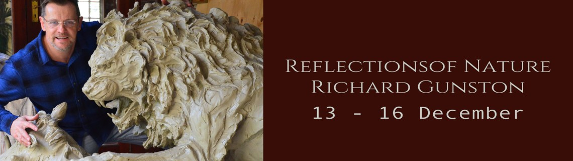 The Studio Art Gallery Exhibition Header - Reflections of Nature by Richard Gunston