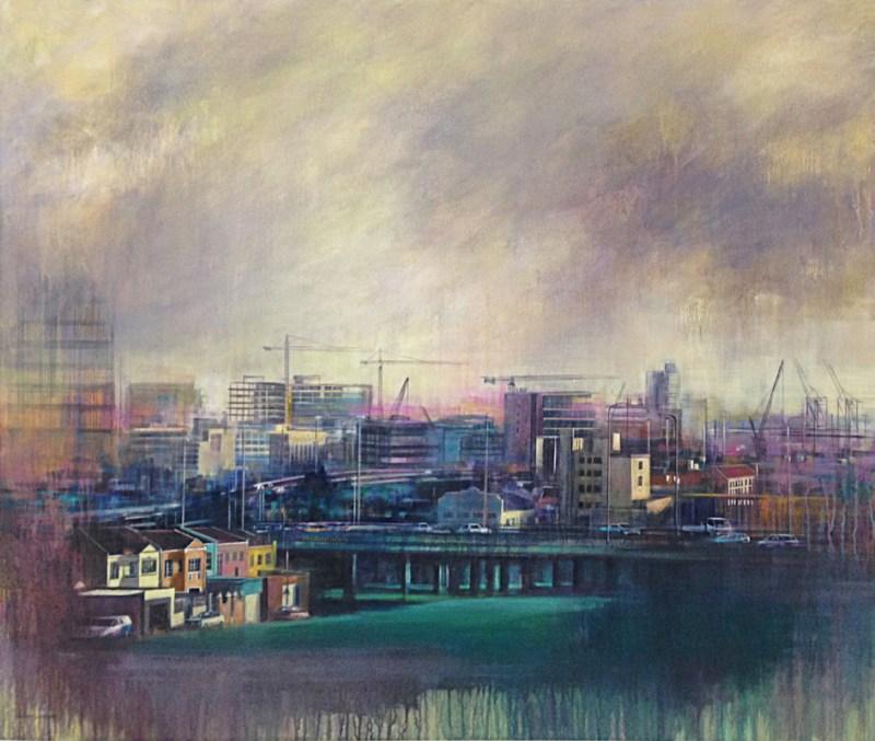 The Studio Art Gallery - View of Zonnebloem by Karen Wykerd