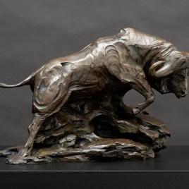 The Studio Art Gallery - Richard Gunston Sculptures - Cape Buffalo by Richard Gunston
