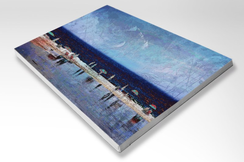 The Studio Art Gallery - Summertime - Stretched Canvas