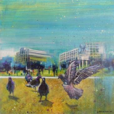 Karen Wykerd | The Studio Art Gallery - 'A Stream of Consciousness III'