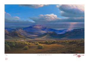 Andrew Cooper | The Studio Art Gallery - Dry River Bed Karoo Limited Edition Print