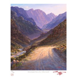 Andrew Cooper | The Studio Art Gallery - Holsloot River Rawsonville Limited Edition Print