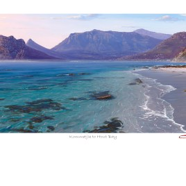 Andrew Cooper | The Studio Art Gallery - Kommetjie to Hout Bay Limted Edition Print - Limited Edition Print