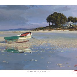 Andrew Cooper | The Studio Art Gallery - Andrew Cooper - Stoffbergsfontein Churchaven Lagoon Limited Edition Print