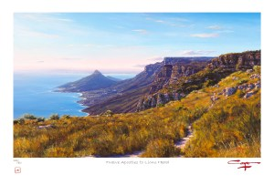 The Studio Art Gallery - Andrew Cooper - Twelve Apostles to Lions Head Limited Edition Print