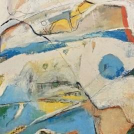 The Studio Art Gallery - Displaced by Robyn Schoon - Oil on canvas, 80cm x122cm