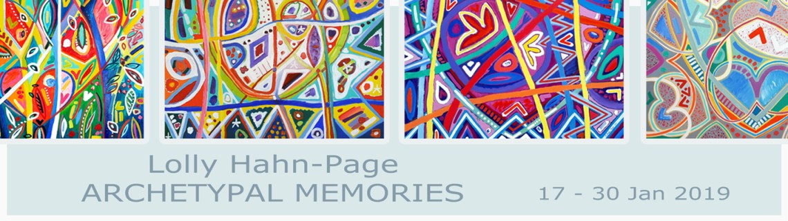 The Studio Art Gallery - Exhibition Header - Archetypal Memories - Lolly Hahn-Page