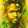 The Studio Art Gallery - Steve Biko by Therese Mullins