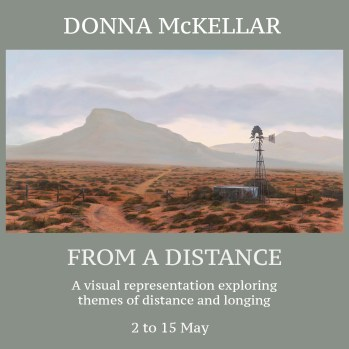The Studio Art Gallery - Icon Image - From a Distance - Solo Exhibition by Donna McKellar