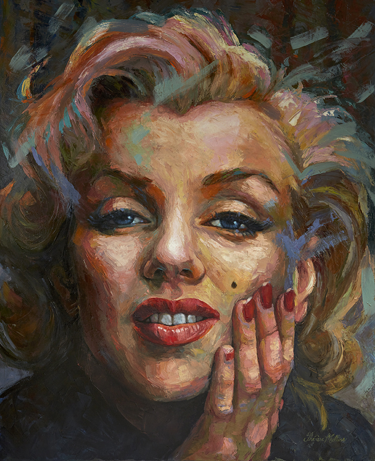 The Studio Art Gallery - Marilyn Monroe by Therese Mullins