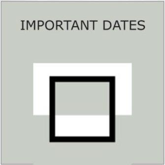 The Studio Art Gallery - Icon Image - Winter Life 2019 - Important Dates