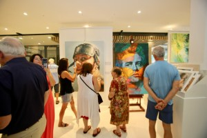 The Studio Art Gallery - Immortals, a solo exhibition by Therese Mullins. 13