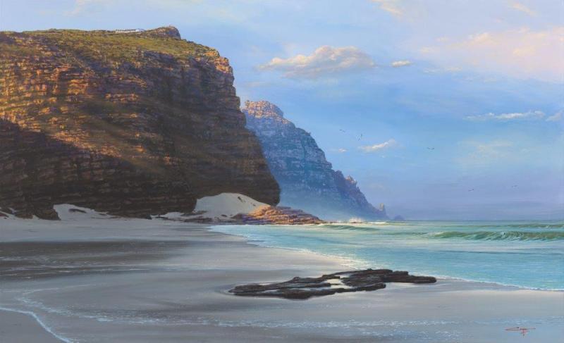 Andrew Cooper   The Studio Art Gallery - Diaz Beach Cape Point