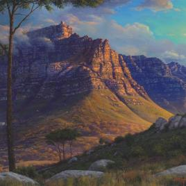 Andrew Cooper | The Studio Art Gallery - Table Mountain Kloofneck