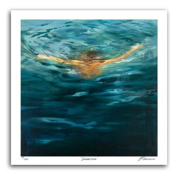 The Studio Art Gallery - Immersion by Yola Quinn - Archival Print on Paper